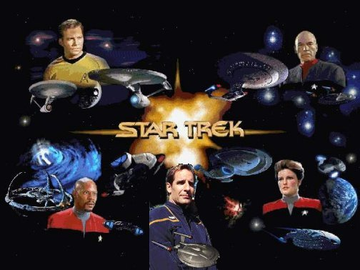 Captains of the Star Trek universe..click on all the captains